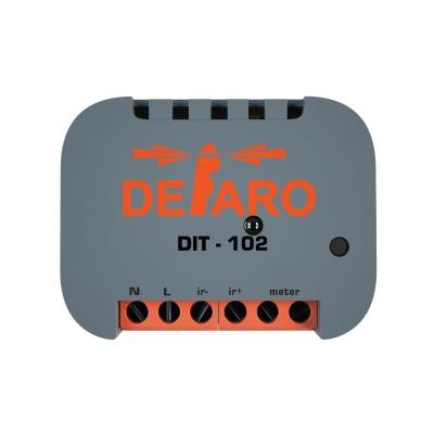 ИК термостат для кондиционеров с измерителем мощности DEFARO DIT-102