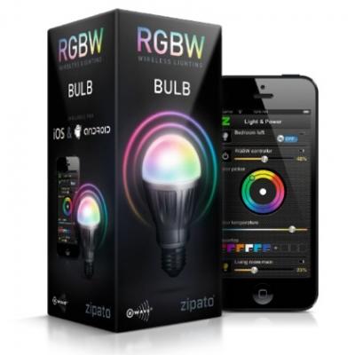 Светодиодная RGBW лампа Z-Wave E27